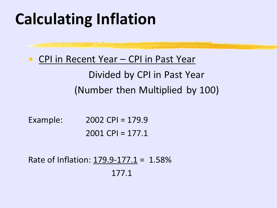 How To Calculate Cpi Equation  Jennarocca