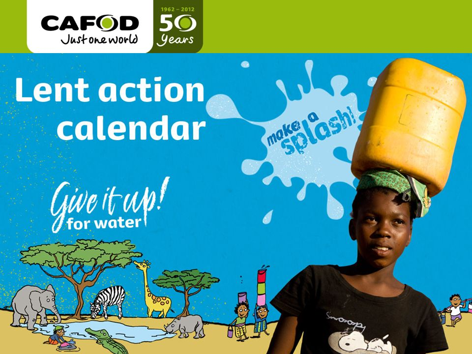 cafod.org.uk Title of talk Name of person giving Date