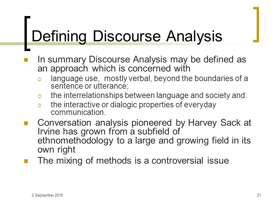 a brief look in discourse analysis and conversation analysis A brief introduction to discourse analysis charles davis loading unsubscribe from charles davis cancel unsubscribe working.