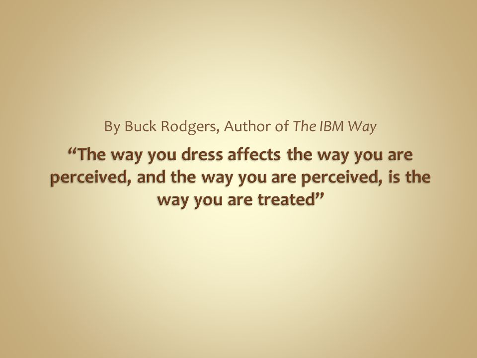 By Buck Rodgers, Author of The IBM Way