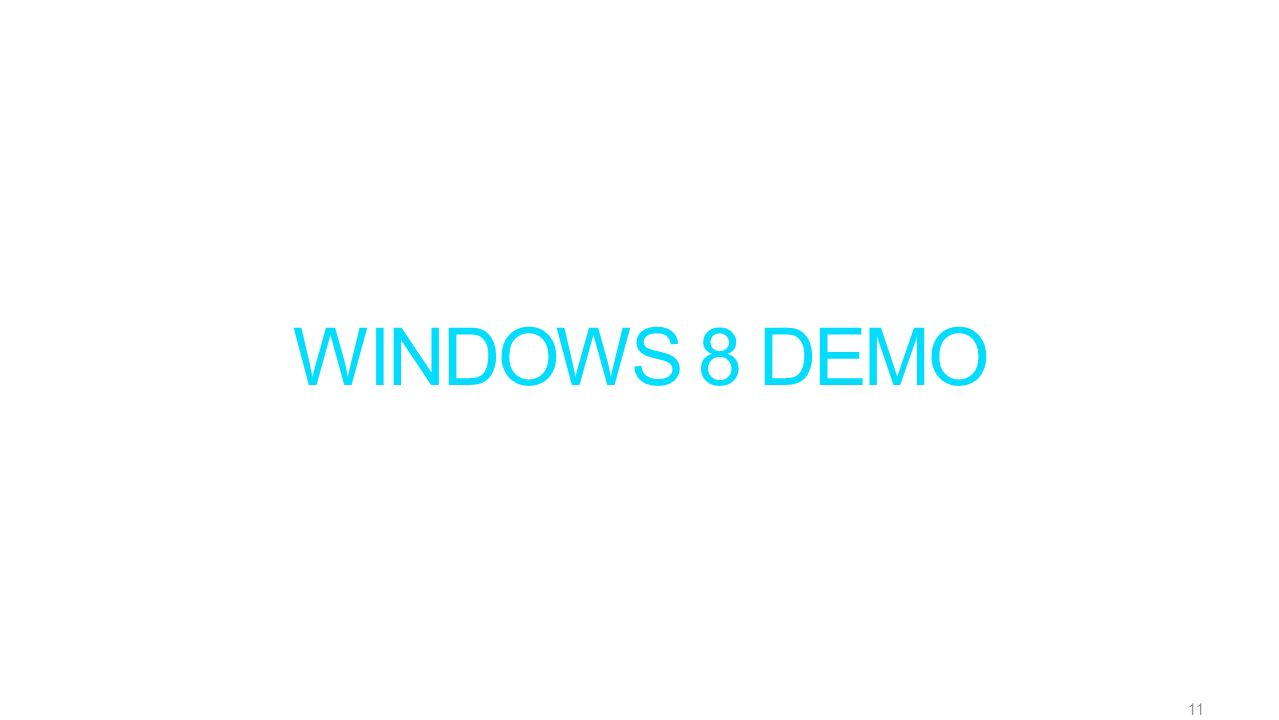WINDOWS 8 DEMO 11