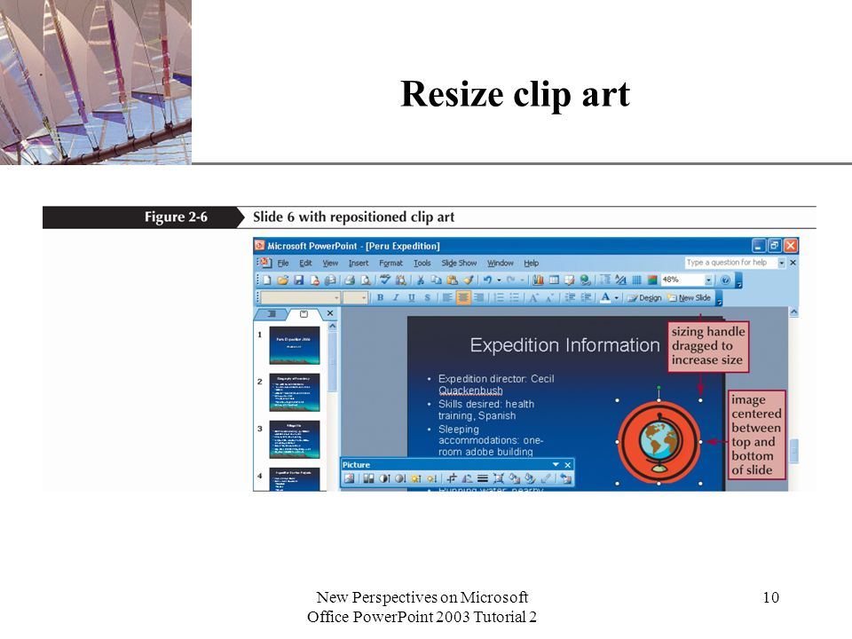 XP New Perspectives on Microsoft Office PowerPoint 2003 Tutorial 2 ...