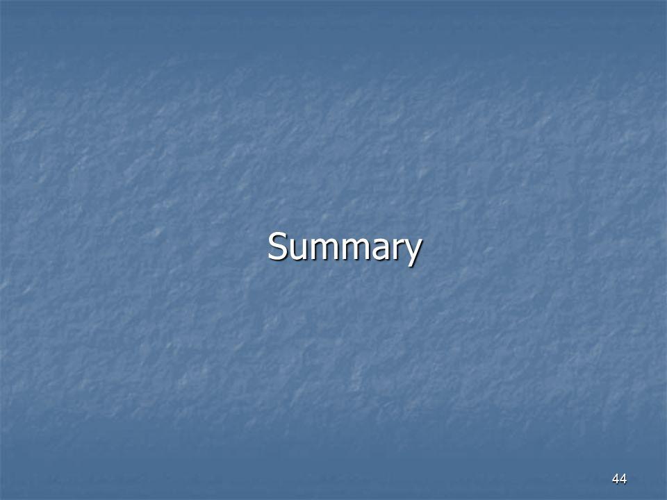 44 Summary