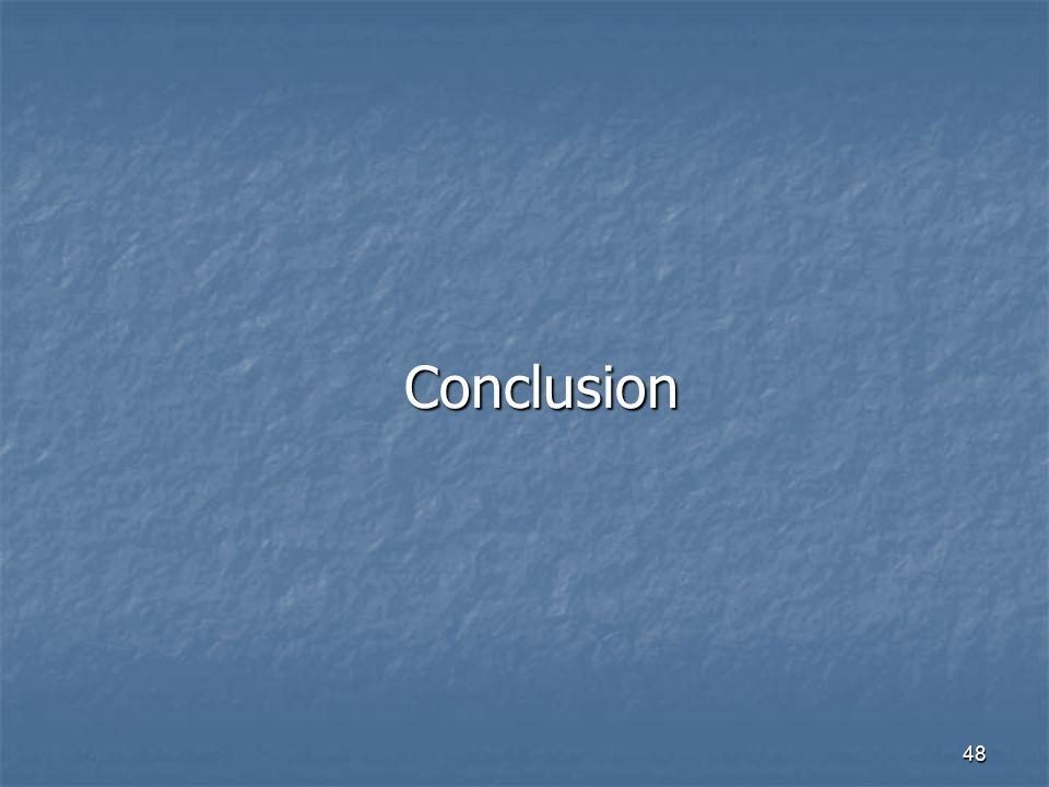 48 Conclusion
