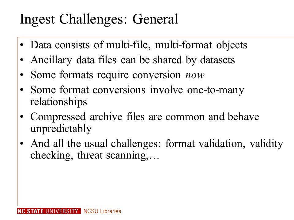 ncsu libraries ingest workflow issues: metadata north carolina, Presentation templates