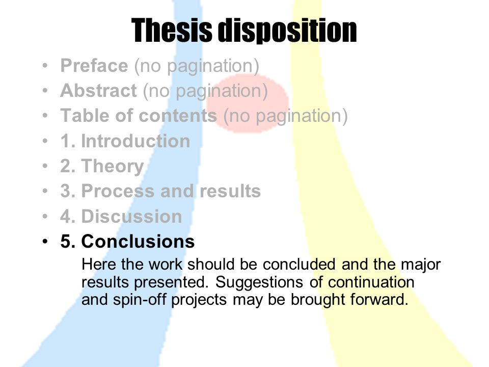 presenting results in a dissertation How to present your results when the group has analysed the data it will need the present the results this could be in a presentation, video or written report.