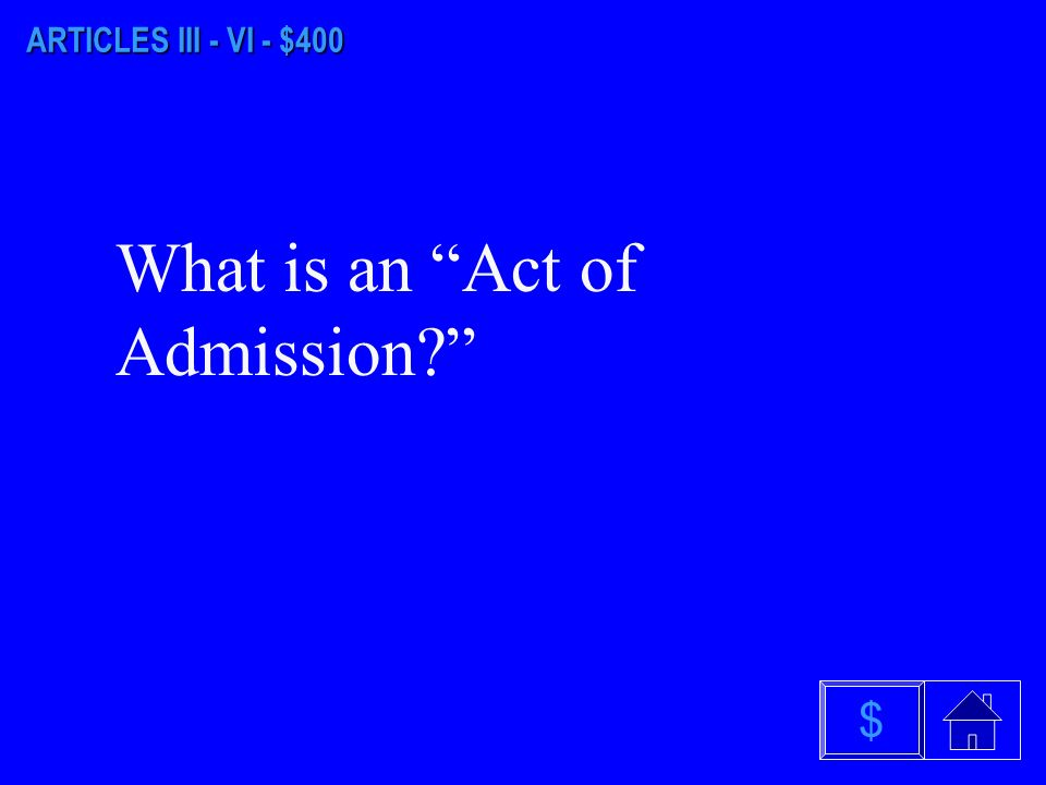 ARTICLES III - VI - $300 What are Privileges and Immunities $