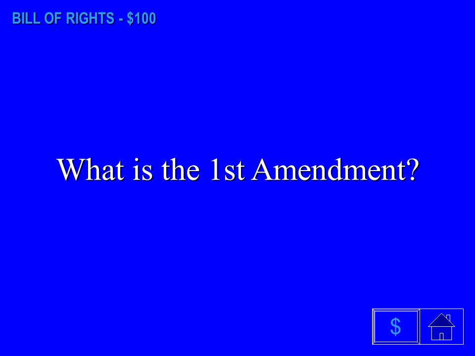 ARTICLES III - VI - $500 What is the Supremacy Clause $