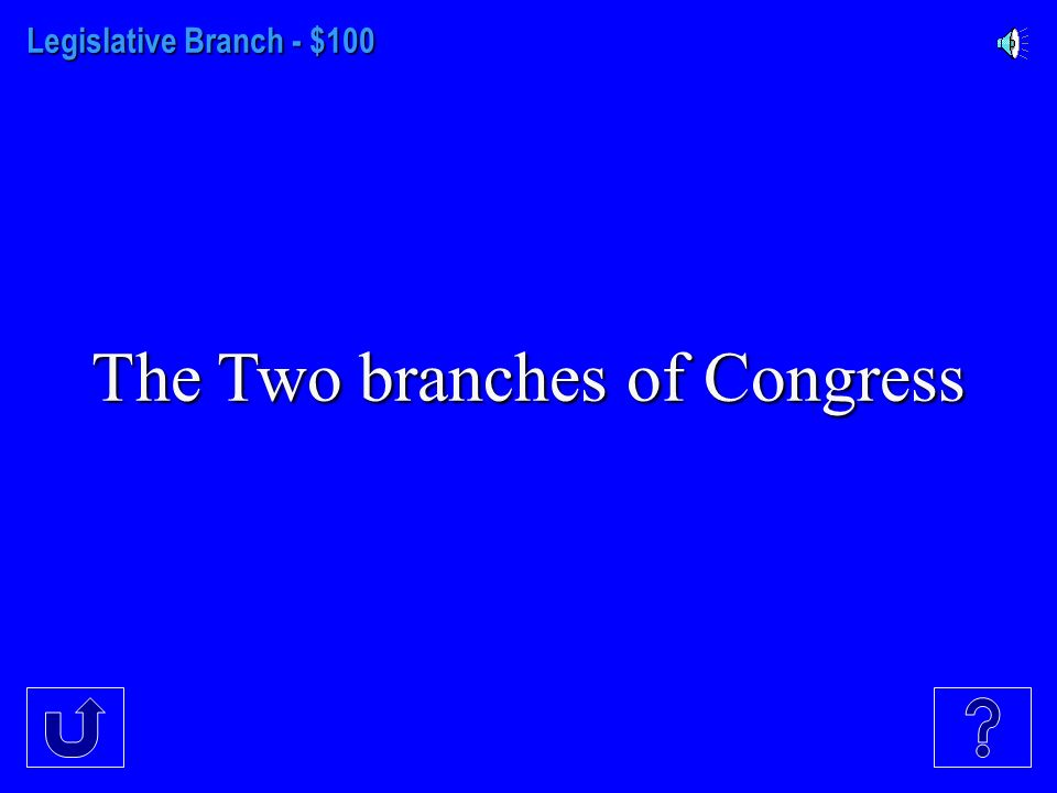 Legislative Branch Executive Branch ARTICLES III - VI BILL OF RIGHTS Amendmts.