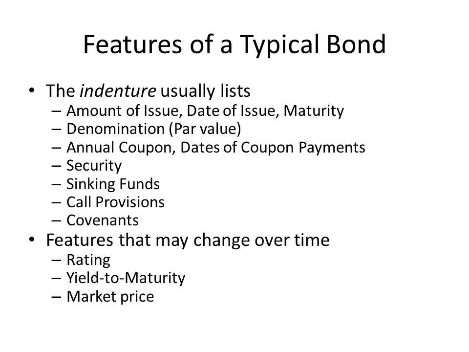 features of long term debt