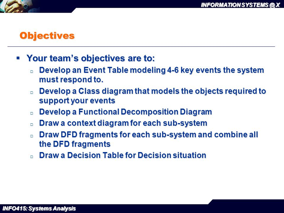 Information x info415 systems analysis systems analysis project 3 info415 ccuart Images