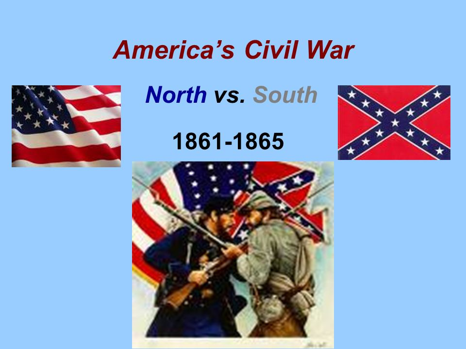 an essay on the causes of the civil war north versus south Civil war essay slavery between the north and south was scholars have tried to narrow down which might be the lead cause of the civil war.