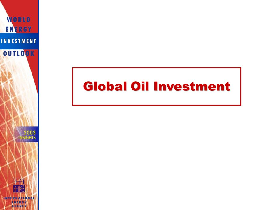 Global Oil Investment