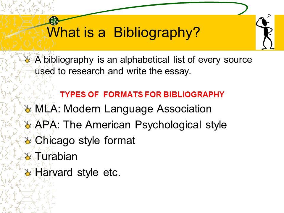 essays styles