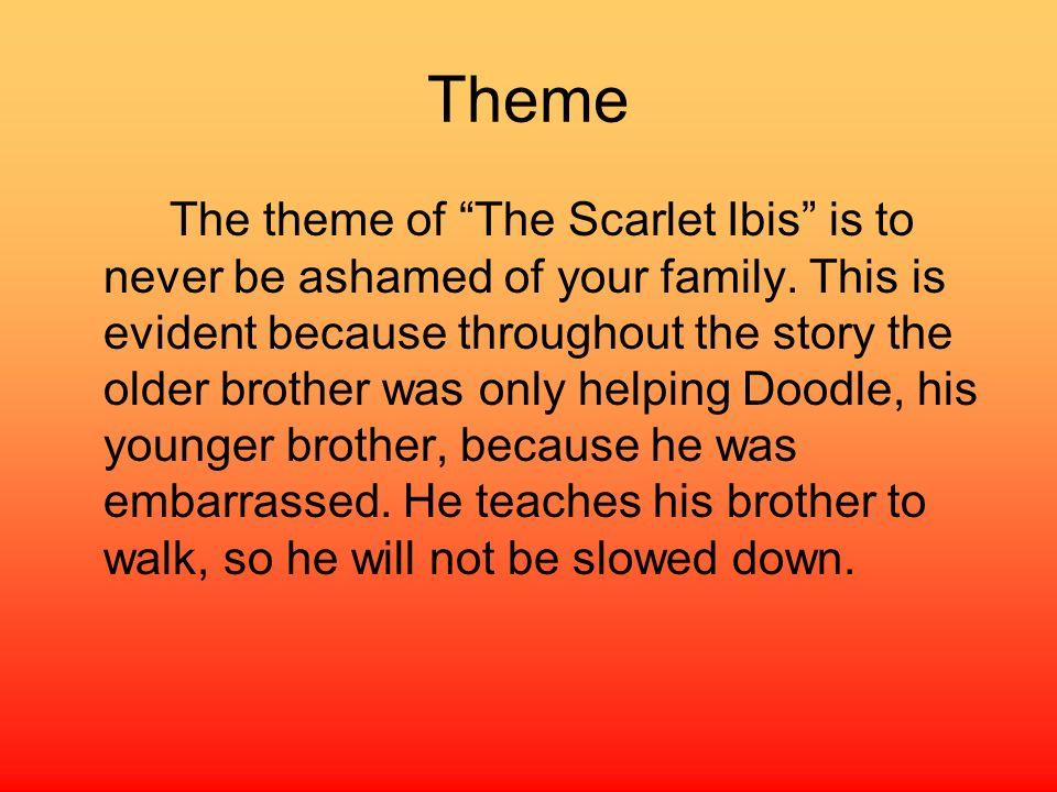 The scarlet ibis essay