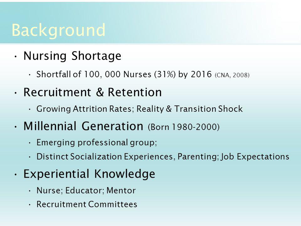nursing shortage recruitment and retention