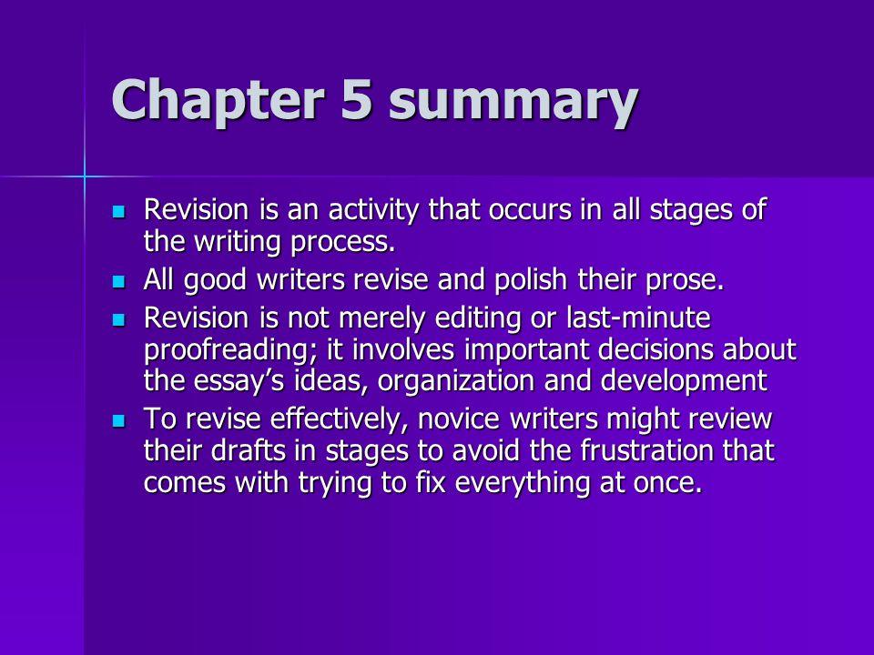 Process Essays