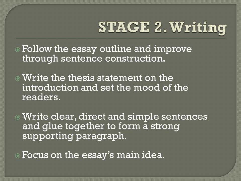 essay writing introduction sentences Introduction to topic sentences in this lesson i give you a quick introduction to one way to write topic sentences for ielts essays first of all i talk you through what they are and what they do and then show you an example of how they can work.