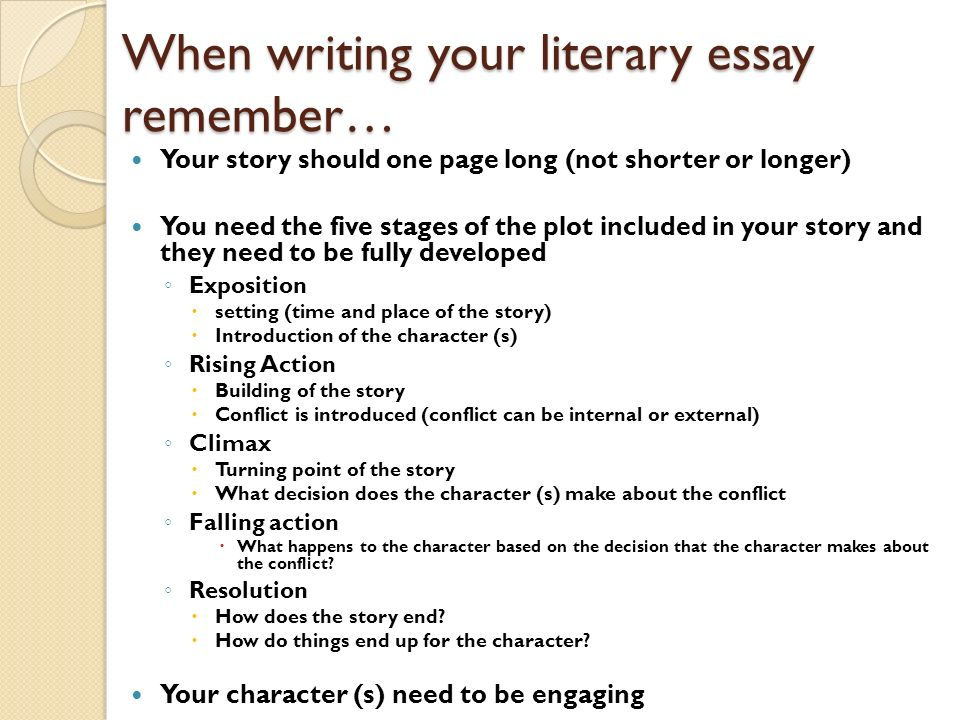 conflicts literature essay Is all that you know about the conflicts only how to create them in that case, you just need to go to the help of our service we will write the best conflict essay for you.