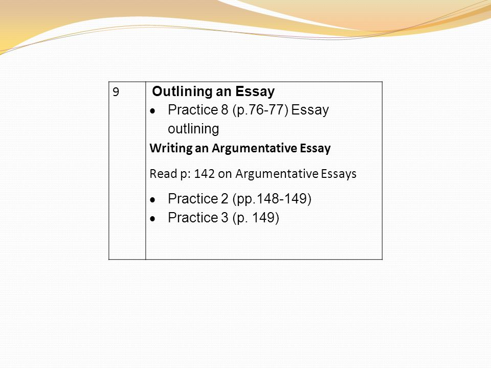techniques for revising an essay