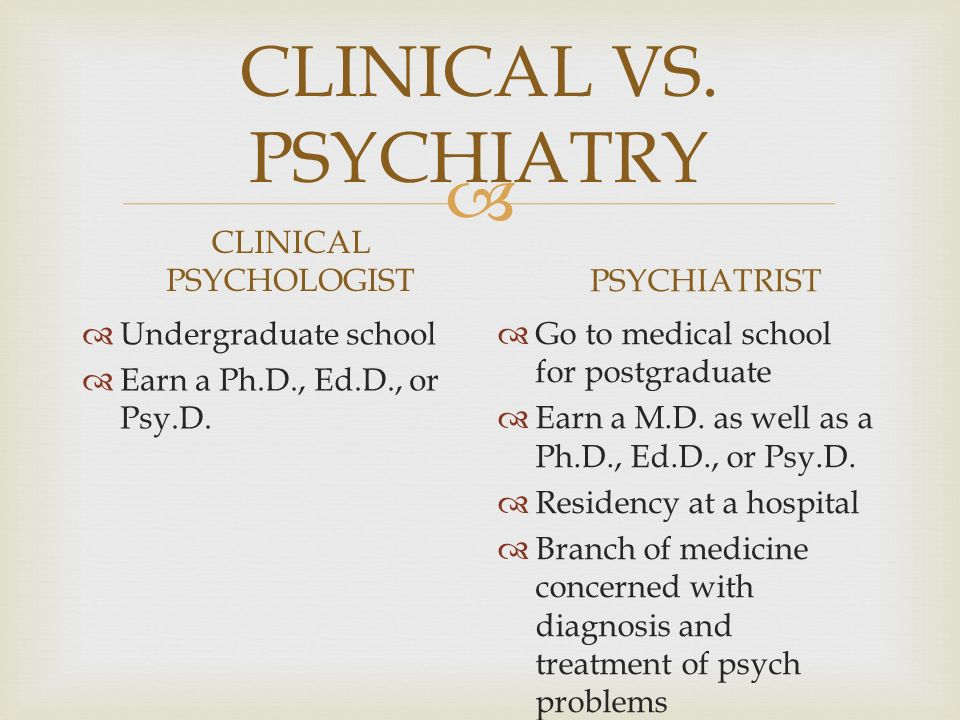 How do you become a psychiatrist? PhD? PsyD? Medical school?