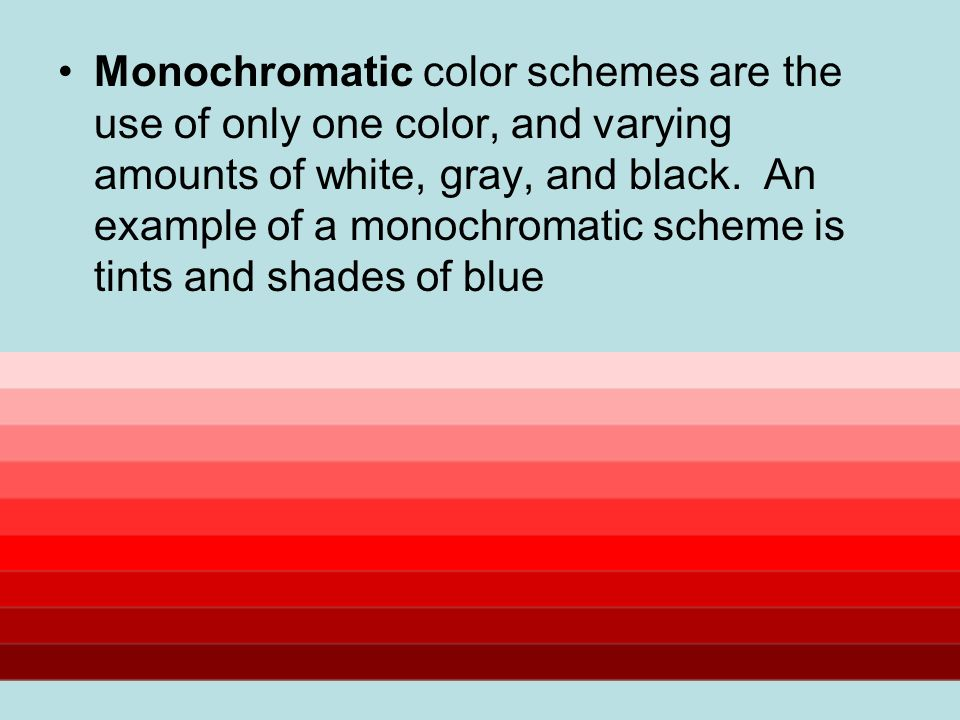 Color Theory And Painting Vocabulary Composition Is The