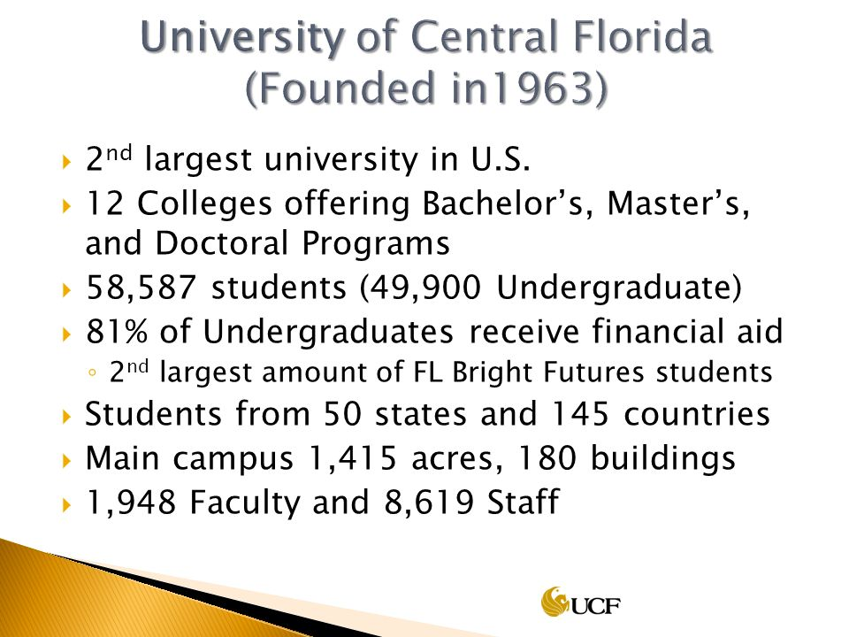 2 nd largest university in U.S.