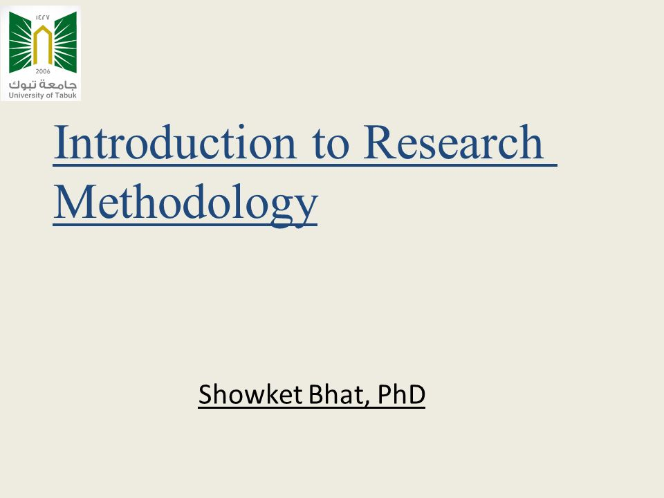 Phd Thesis Introduction