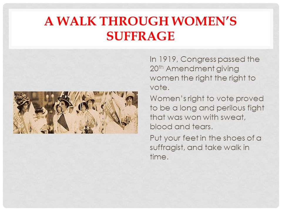 How Significant Was WW  In Bringing About Votes For Some Women In