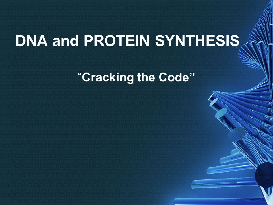 Dna and protein synthesis cracking the code dna the blueprint of 1 dna malvernweather Choice Image