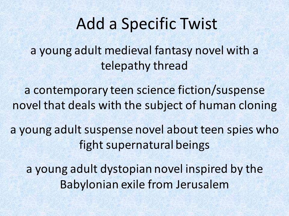 How to write a good fantasy novel