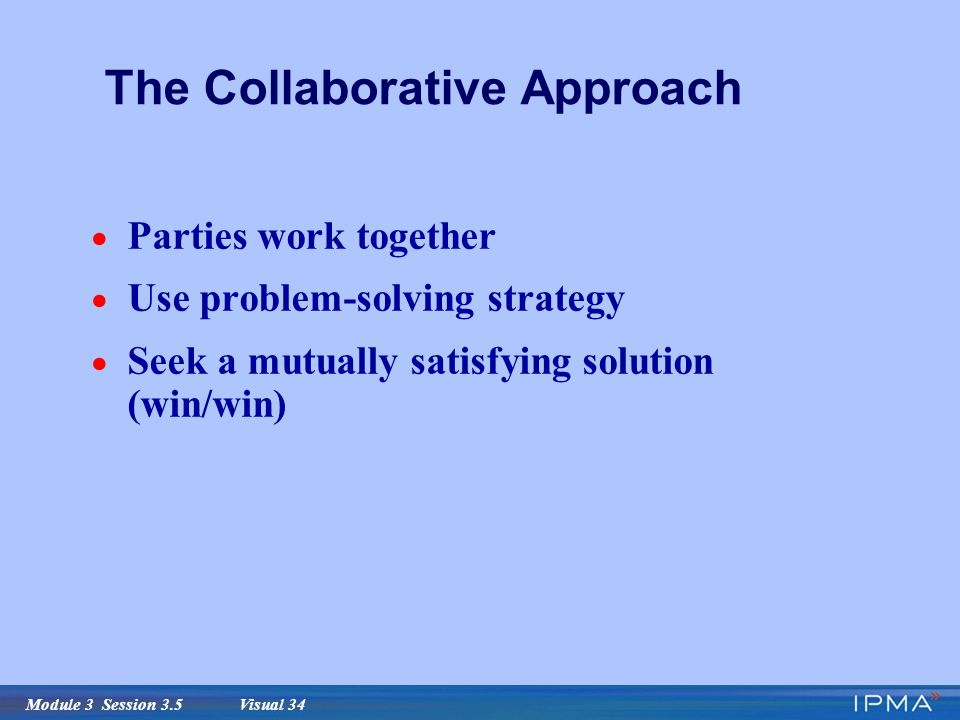 win win problem solving in collaborations