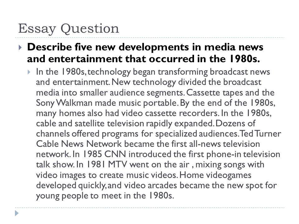 media essay question (this question counts for one-third of the total essay section score) over the past several decades, the english language has become increasingly globalized, and it is now seen by many as the dominant language in international finance, science, and politics.