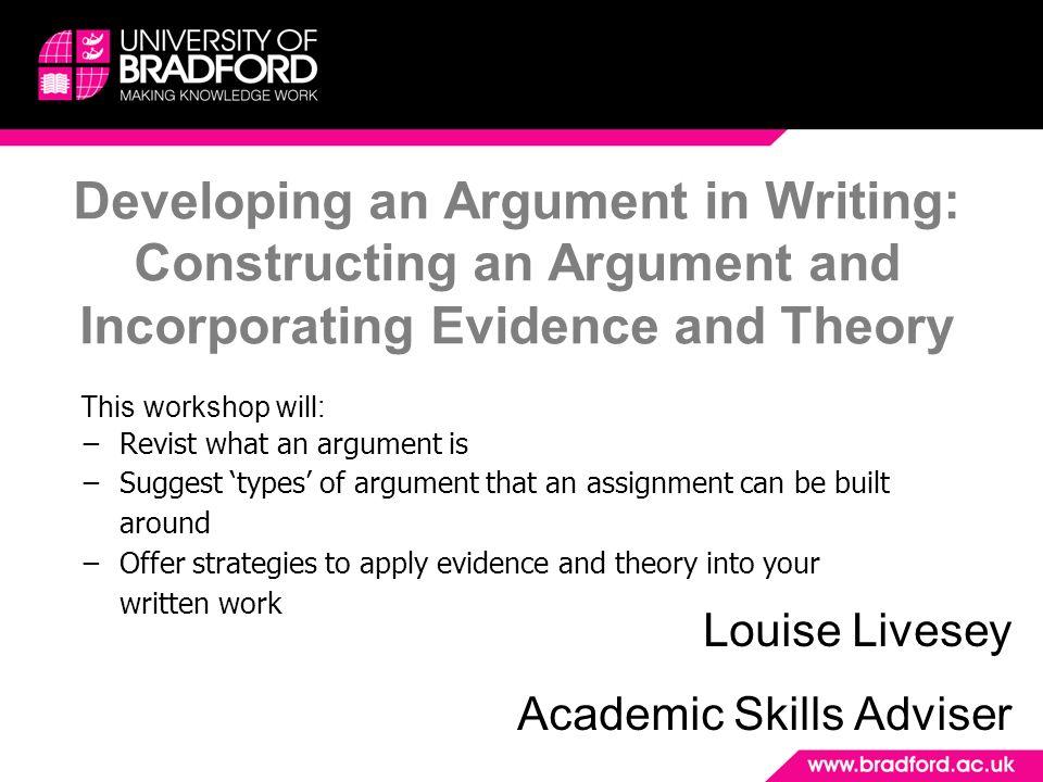 building argument essay