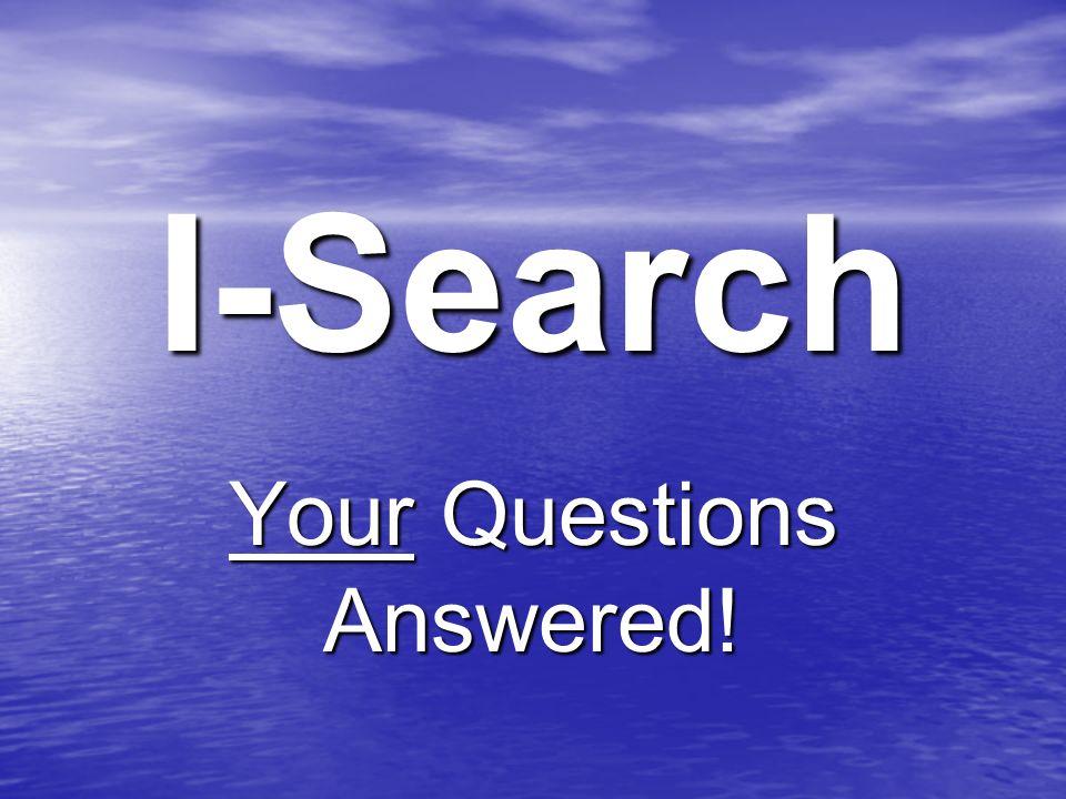 i search paper