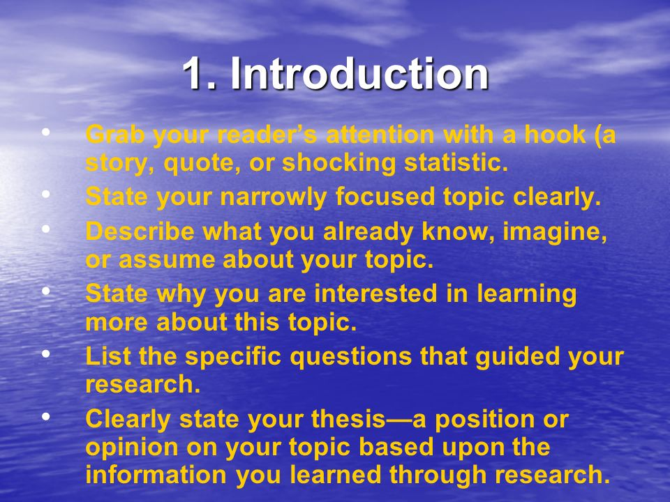 How Do I Start With My Essay Introduction?