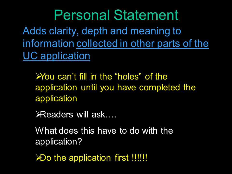 What are UC personal statement prompts for Fall 2009?