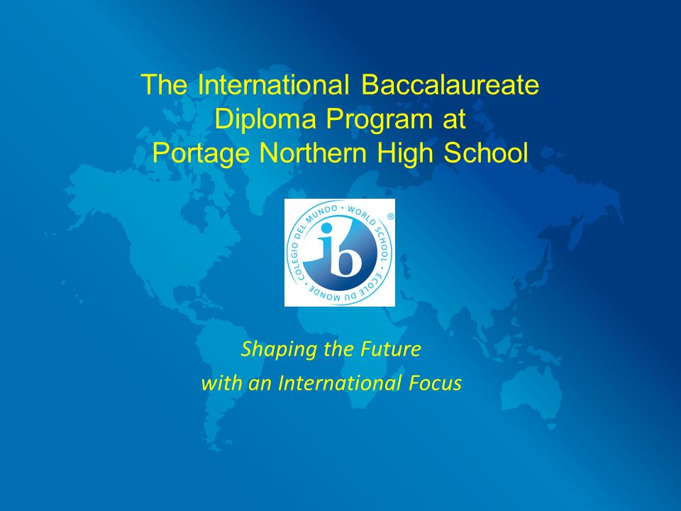 Is anyone in the IB diploma program?