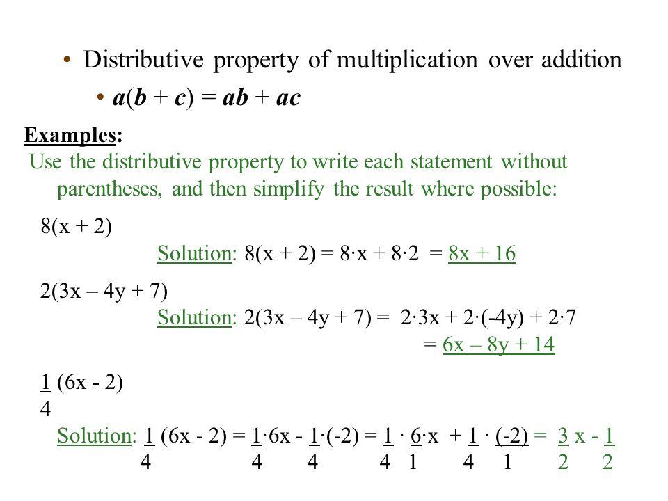 math worksheet : distributive property of multiplication over addition worksheets  : Distributive Property Of Multiplication Worksheet