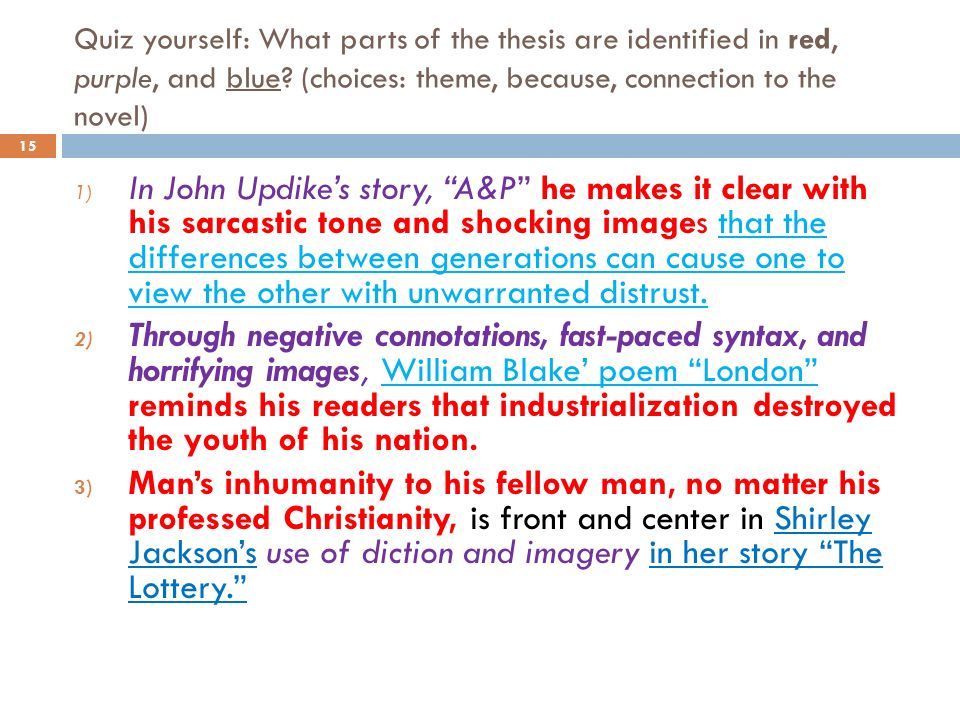 john updike a p essay example John updike's a&p most of the events that happen in john updike's a&p wouldn't normally have happened had the city resided under a marxist culture.