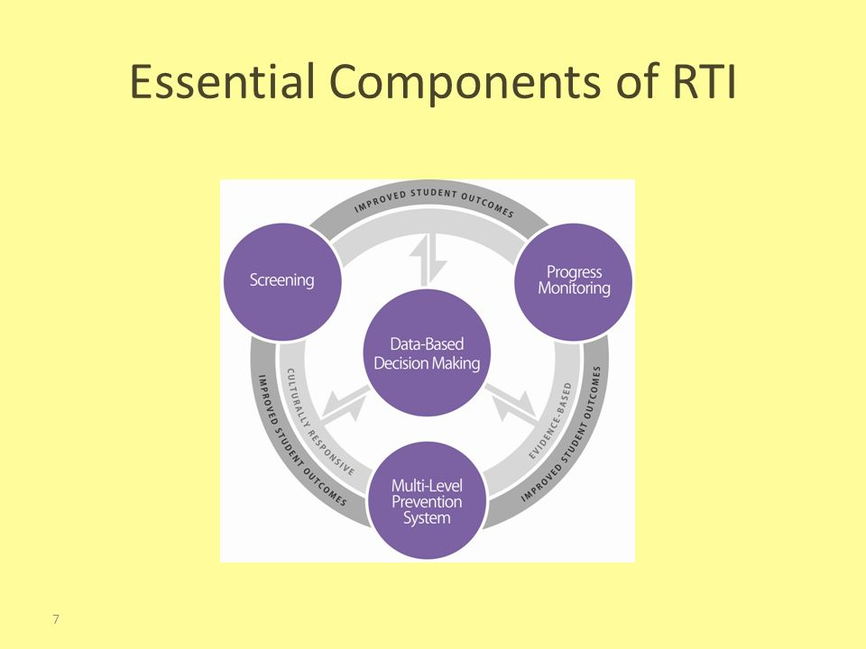 Essential Components of RTI 7
