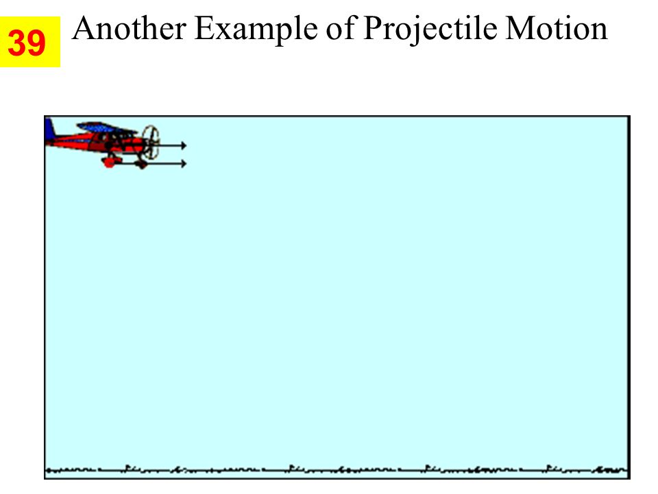 Another Example of Projectile Motion 39
