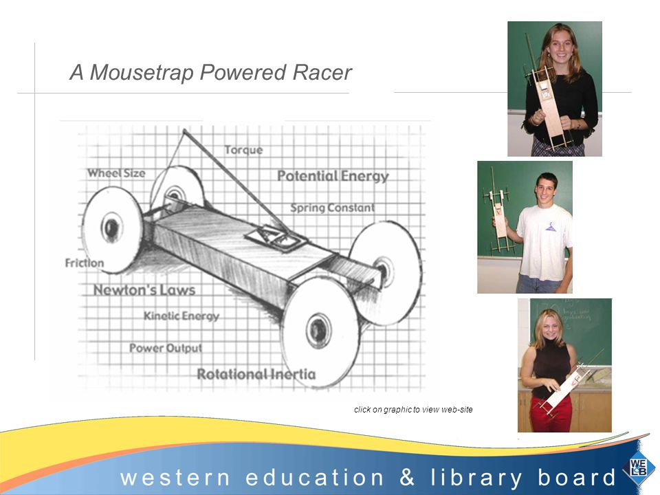 A Mousetrap Powered Racer click on graphic to view web-site