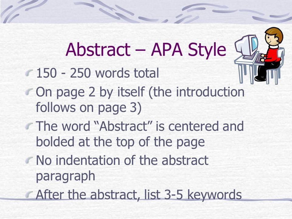Apa style font