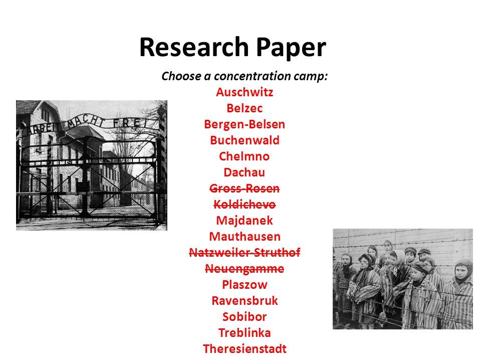 buchenwald concentration camp essay   essay topicsresearch paper choose a concentration camp auschwitz belzec bergen belsen buchenwald chelmno dachau gross