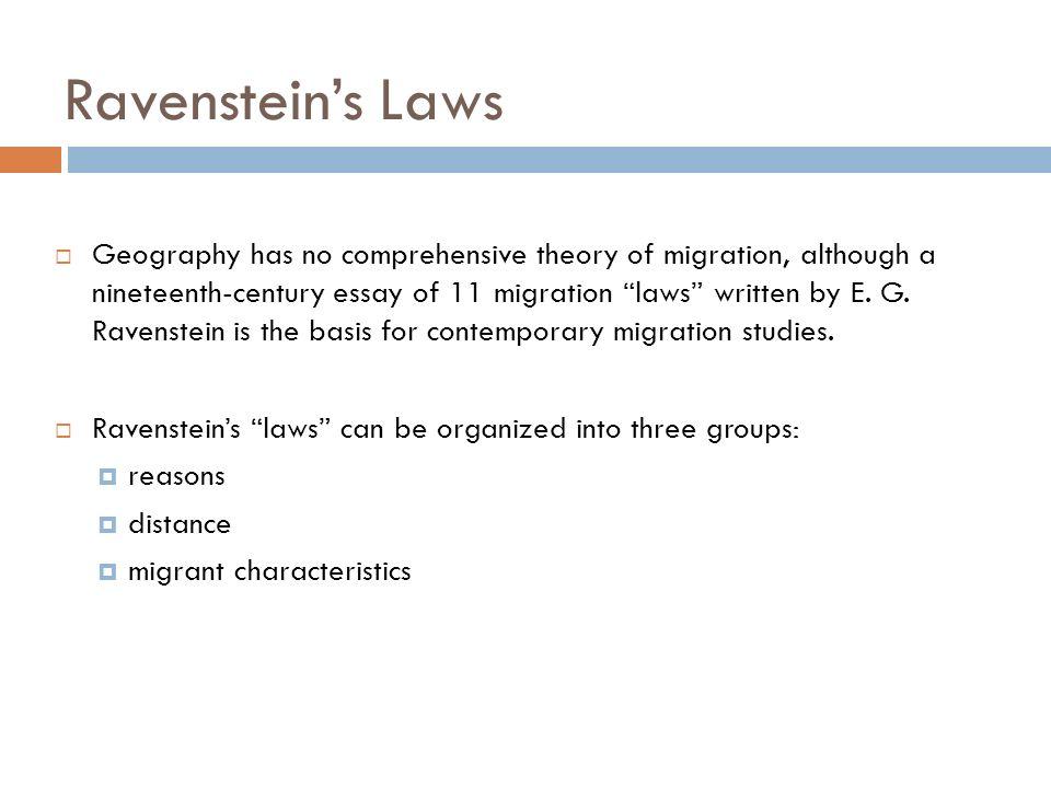 Migration essay