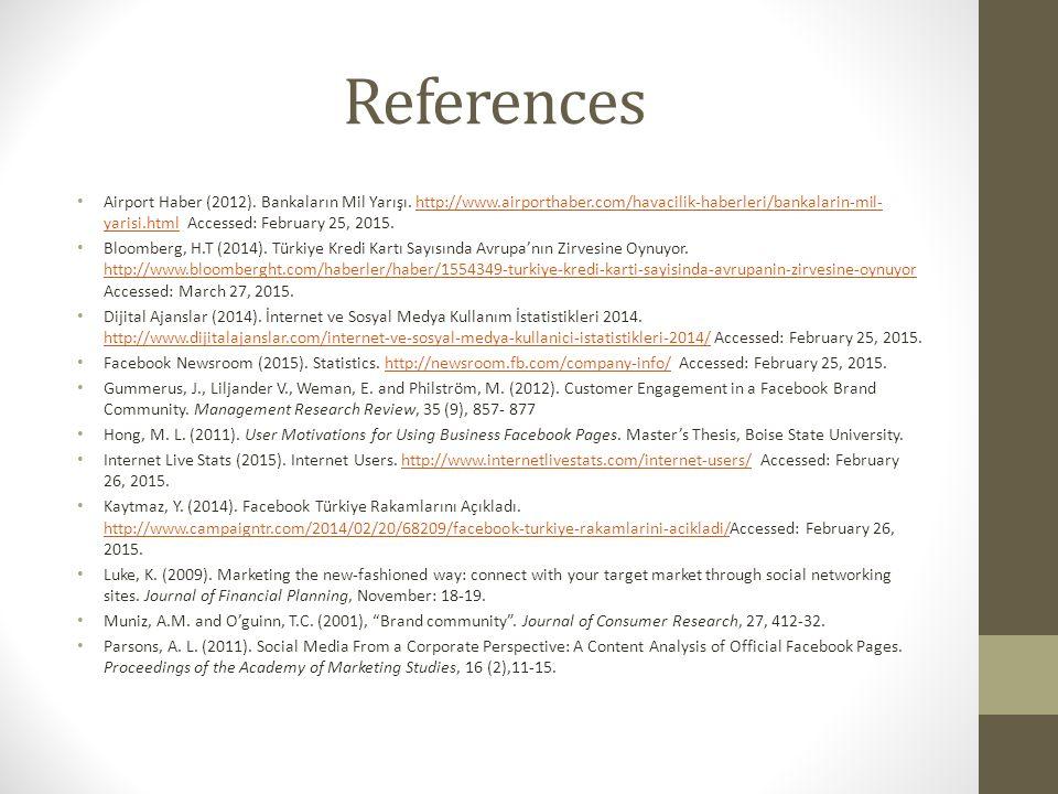 References Airport Haber (2012). Bankaların Mil Yarışı.
