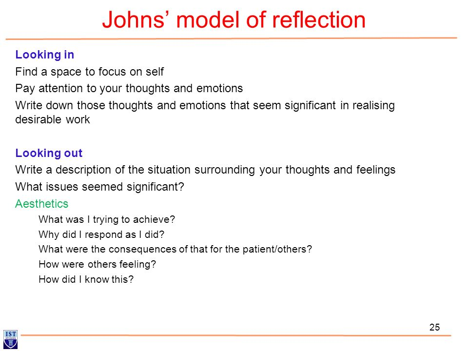 reflection on personal development essay
