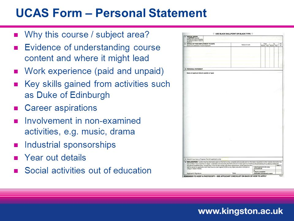 personal statement layout ucas Introduction personal statements are a very important part of the ucas application service, and may often be a deciding factor they are especially important when applying for very competitive courses, where there will be little difference between you and your fellow applicants.