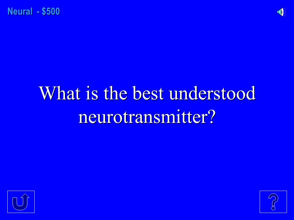 Neural - $400 The amount of time it takes for neurotransmitter molecules to cross the synaptic gap.